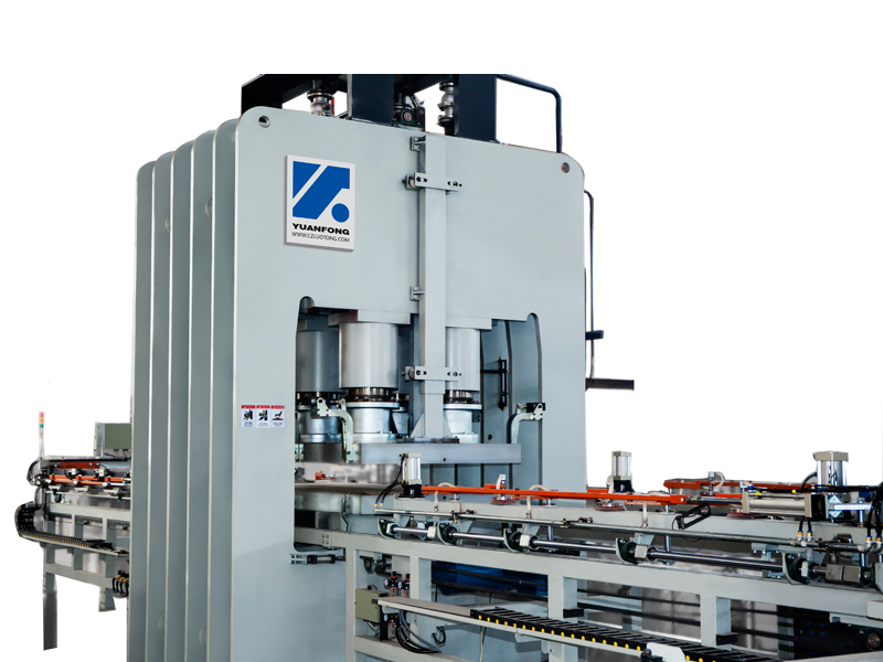 High speed short cycle press line (clamp type)